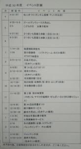 イベント計画30